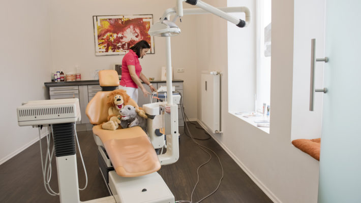 Das Prophylaxezimmer in der DentalOase